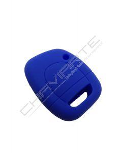Capa Silicone Renault Um Botão Azul