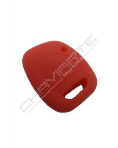 Capa silicone Renault, um botão, vermelho