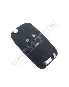 Comando Flip para Opel insignia 3 botões proximidae hu100(13584834)