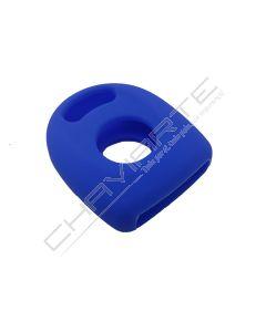 Capa silicone Volkswagen, um botão, azul