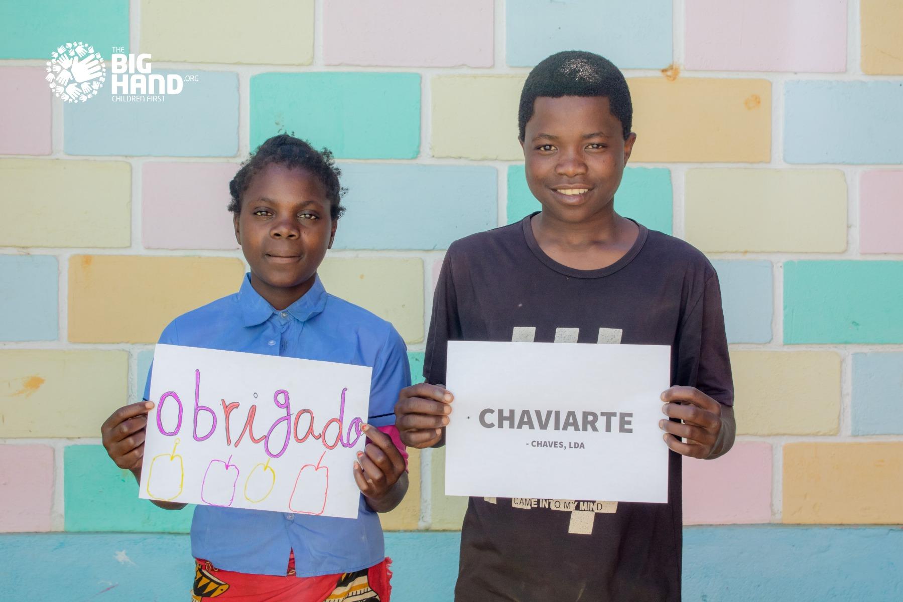 Grenke e Chaviarte enviam ajuda a Moçambique
