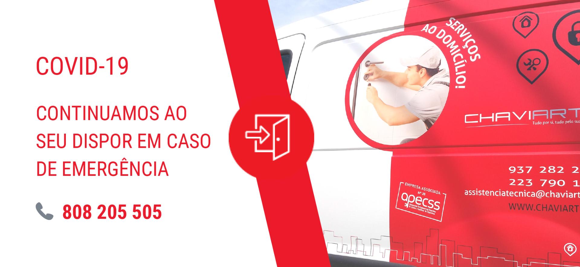 Serviços de abertura de portas emergência portugal