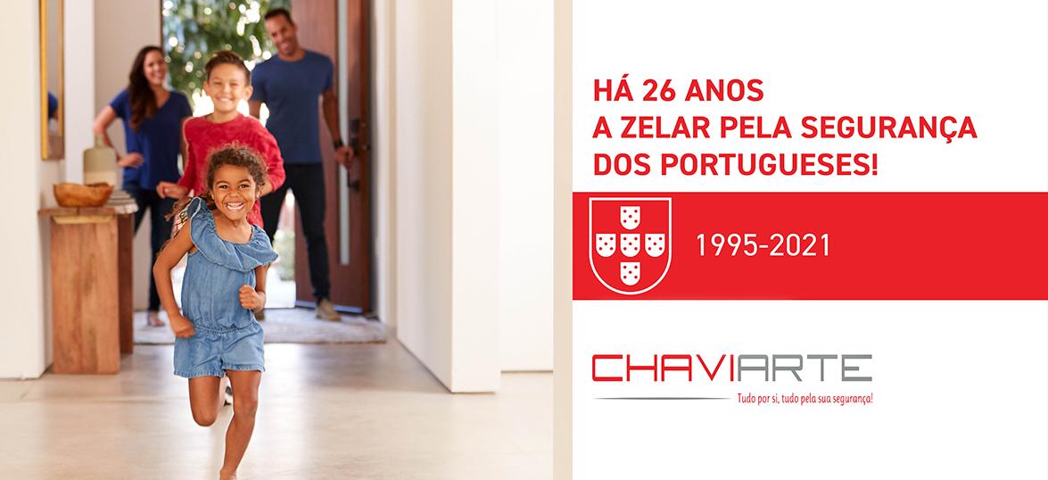 26 aniversario a zelar pela segurança dos portugueses