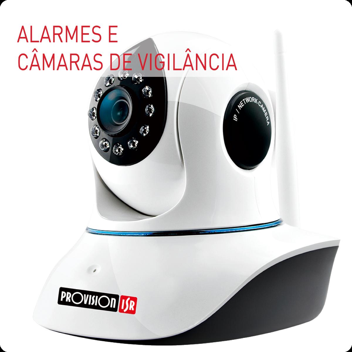 Alarmes e CCTV
